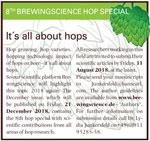 BrewingScience hop special 2018