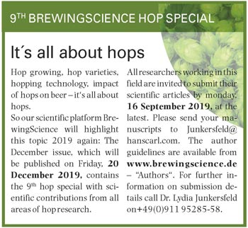 BrewingScience hop special 2019