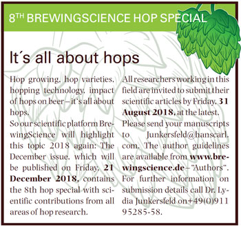 BrewingScience hop special 2018