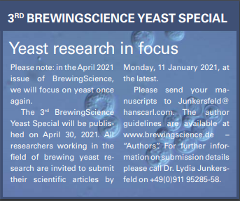 BrewingScience Yeast Special 2021